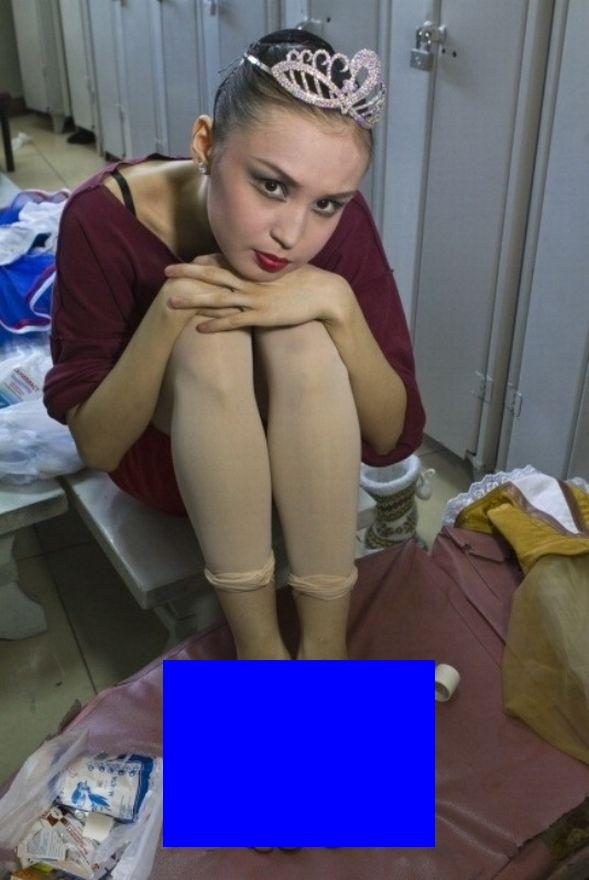 Фото в раздевалке у балерин