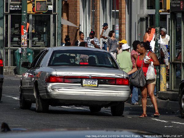 Нелегальное такси в Америке