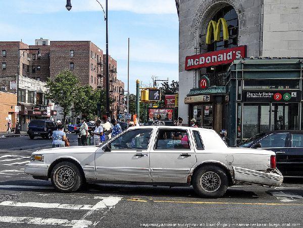 Бомбилы-таксисты в Нью-Йорке