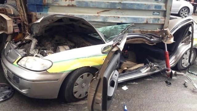 Такси Владивосток раздавило