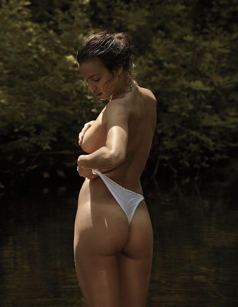 Кто-нибудь обратил внимание на рекламируемое Ириной Шейк нижнее белье?
