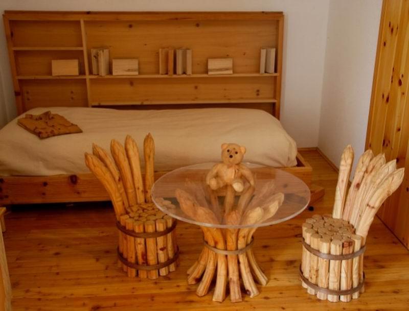 Из дерева своими руками в домашних условиях
