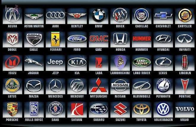 знаки автомобильных марок картинки