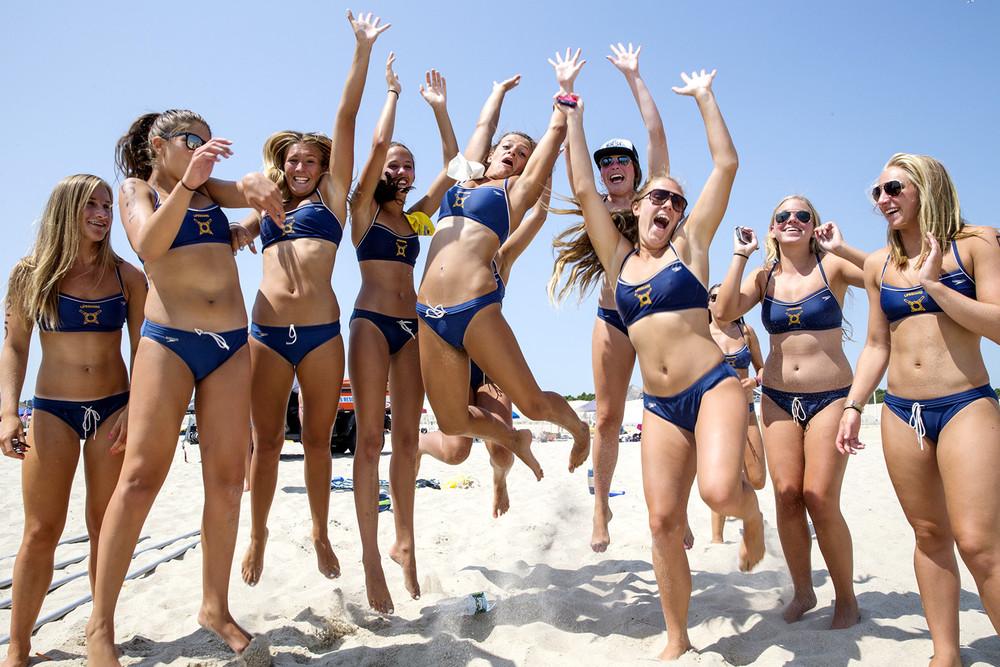 фото американских девушек на пляже
