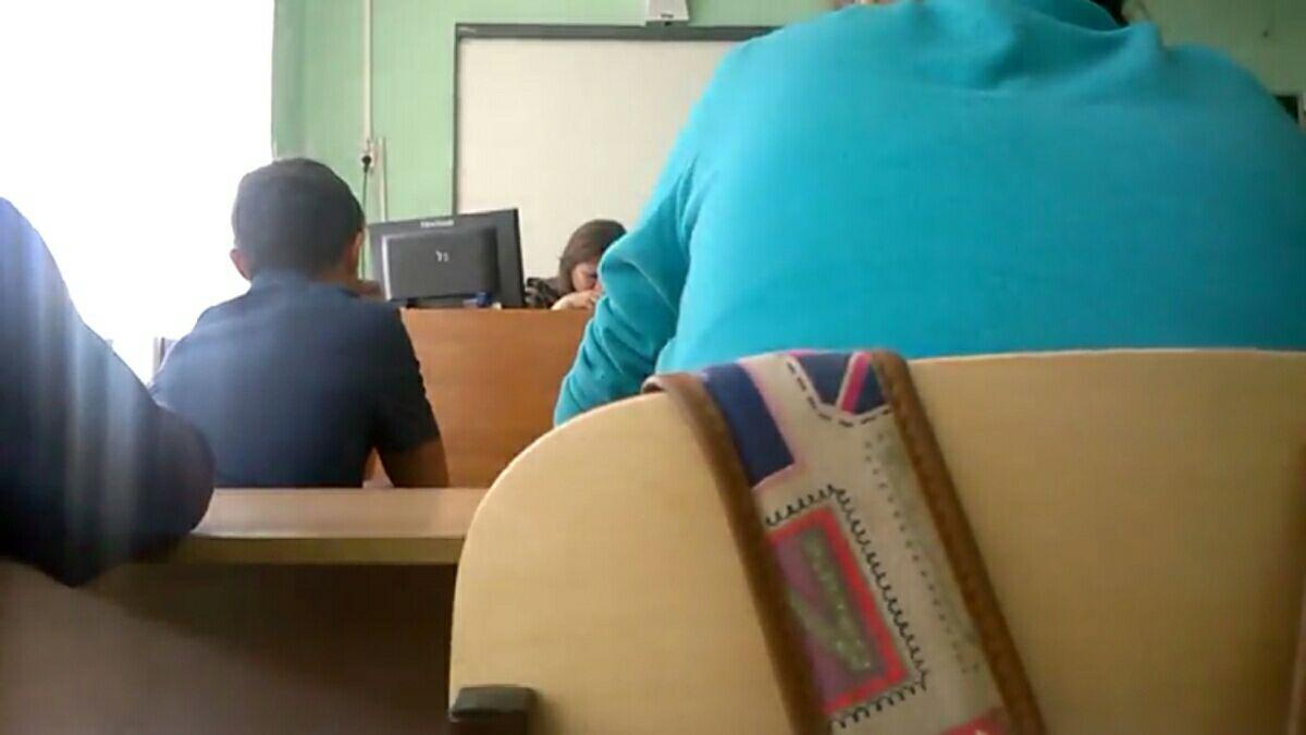 Русская училка хочет ученика 19 фотография