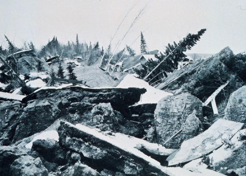 Risultati immagini per great alaska earthquake 1964